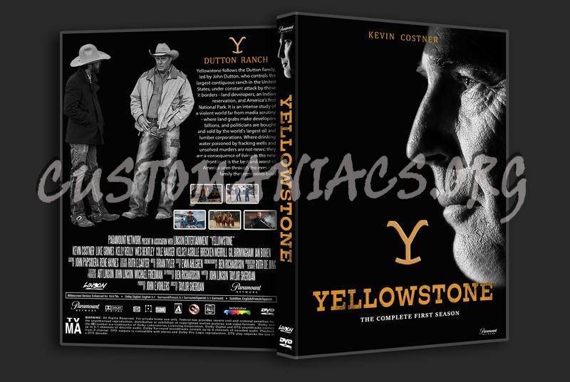 Yellowstone Season 1 dvd cover