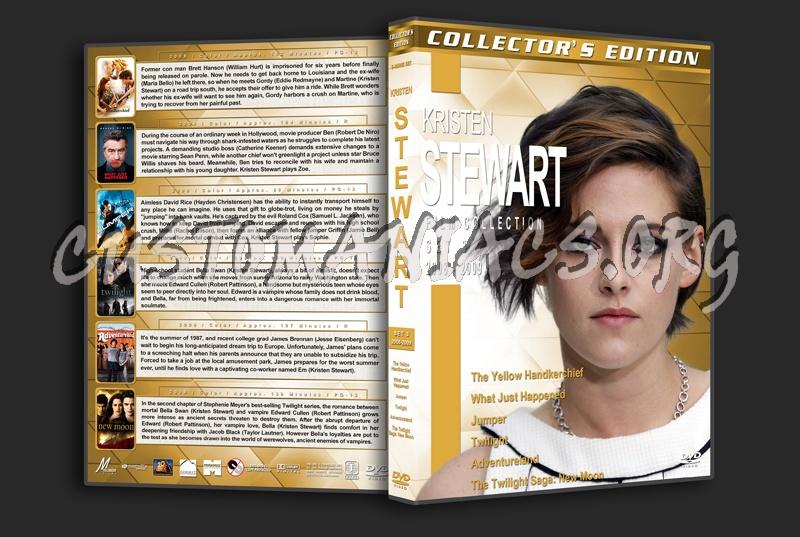 Kristen Stewart Film Collection - Set 3 (2008-2009) dvd cover - DVD