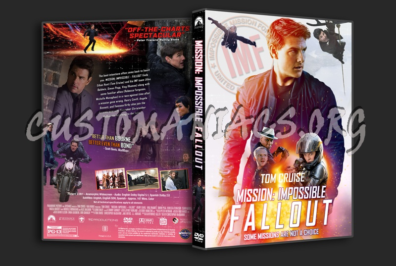 Mission: Impossible - Fallout dvd cover