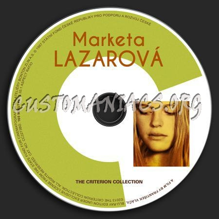 661 - Marketa Lazarová dvd label