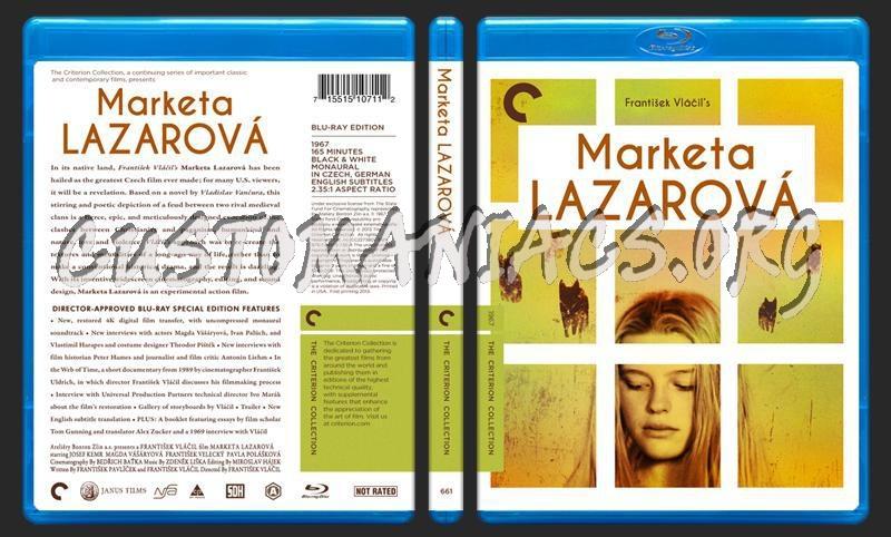 661 - Marketa Lazarová blu-ray cover