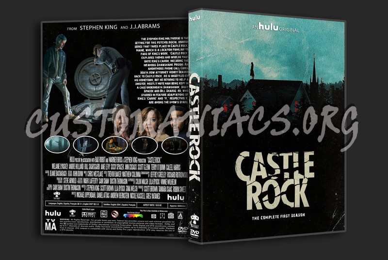 Castle Rock Season 1 dvd cover