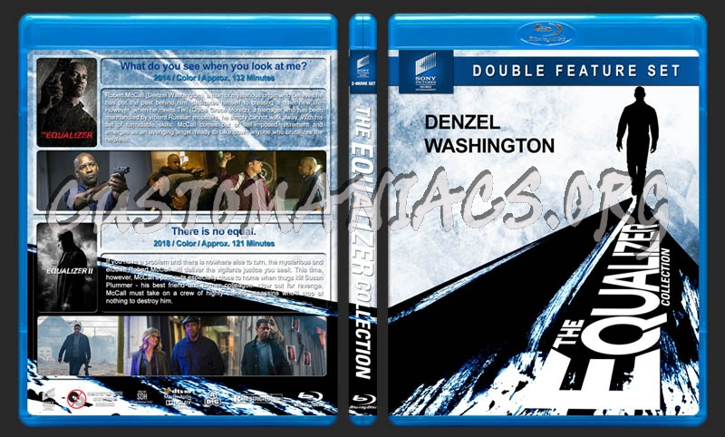 The Equalizer Collection blu-ray cover