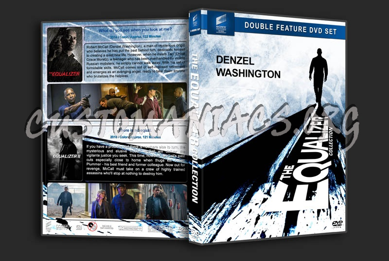 The Equalizer Collection dvd cover