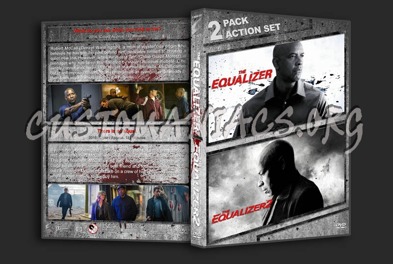The Equalizer Double Feature dvd cover