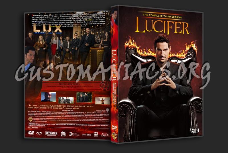 Lucifer Season 3 dvd cover