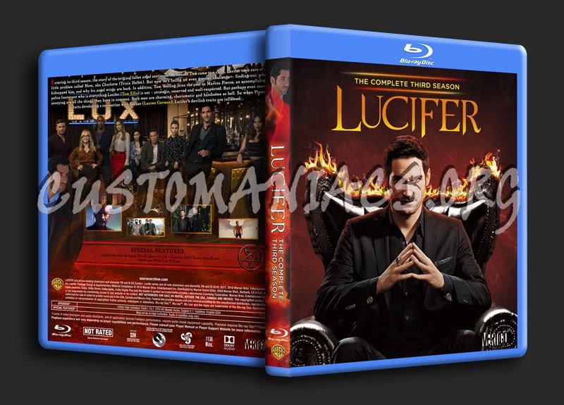Lucifer Season 3 blu-ray cover