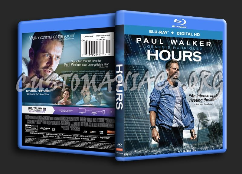 Hours blu-ray cover
