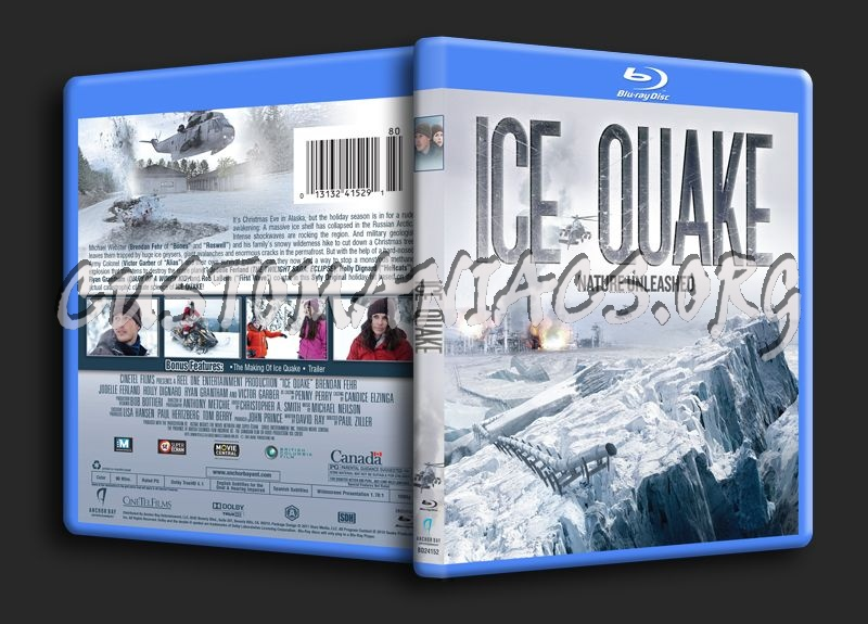 Ice Quake blu-ray cover