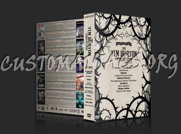The Tim Burton Collection (10) - Volume 1 dvd cover