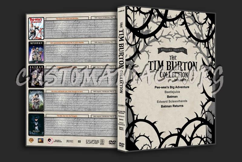 The Tim Burton Collection (5) - Volume 1 dvd cover