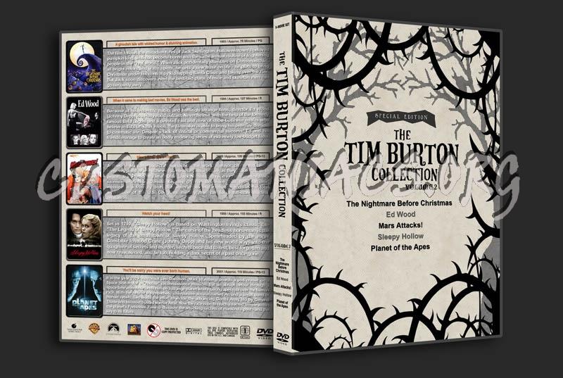 The Tim Burton Collection (5) - Volume 2 dvd cover