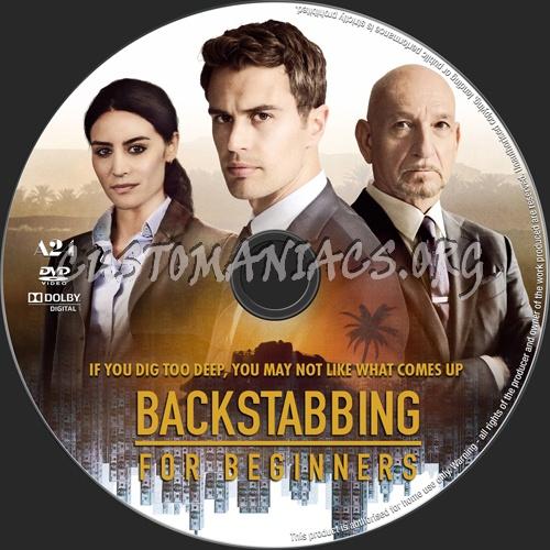 Backstabbing For Beginners dvd label