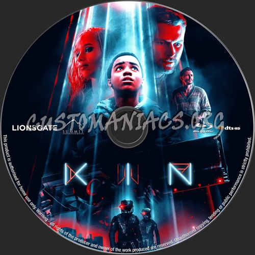 Kin blu-ray label