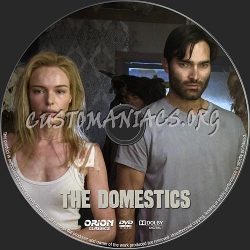 The Domestics dvd label