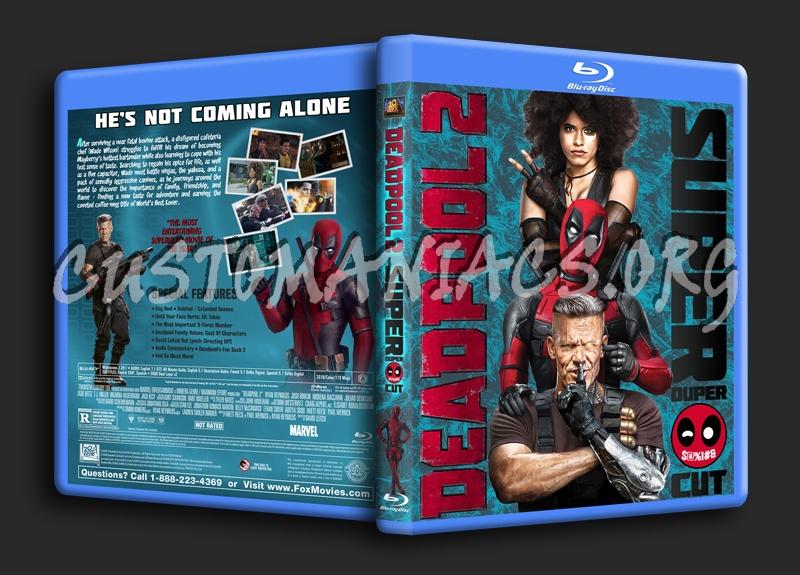 Deadpool 2 Super Duper Cut blu-ray cover