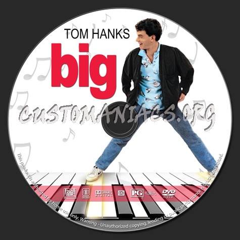 Big dvd label
