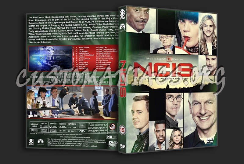 NCIS - Season 15 dvd cover