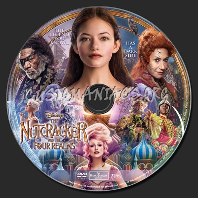 The Nutcracker And The Four Realms dvd label