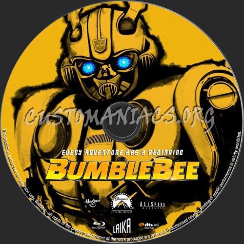 Bumblebee blu-ray label