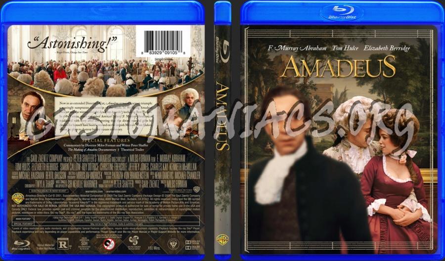 Amadeus blu-ray cover