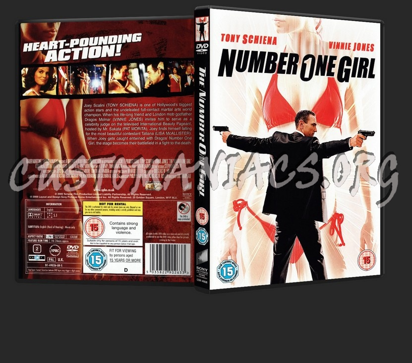 The Number One Girl dvd cover