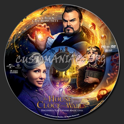 The House With A Clock In Its Walls dvd label
