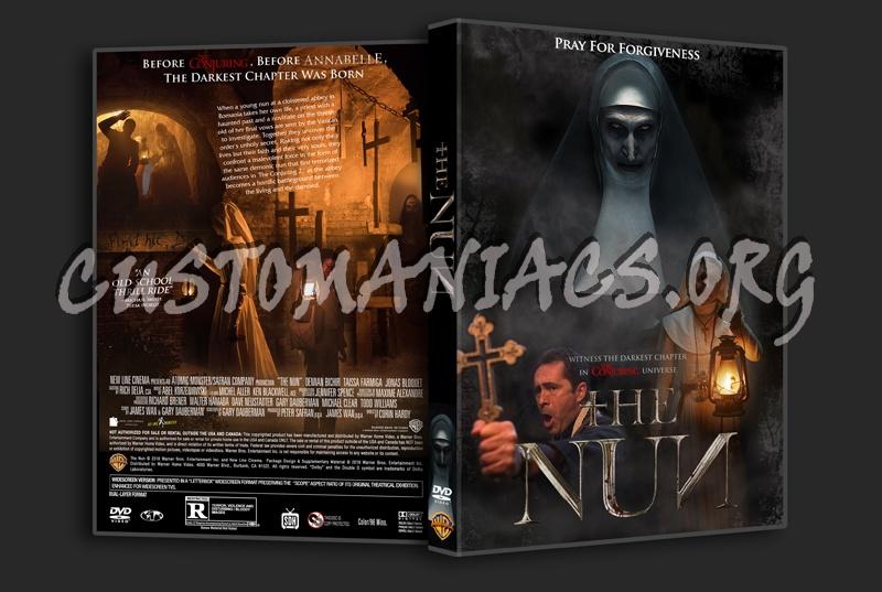 The Nun (2018) dvd cover