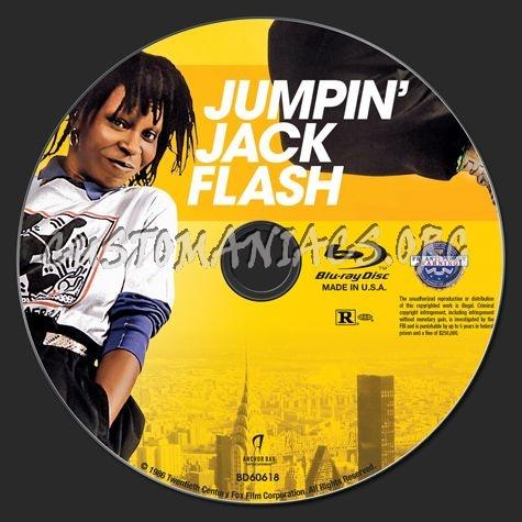 Jumpin' Jack Flash blu-ray label