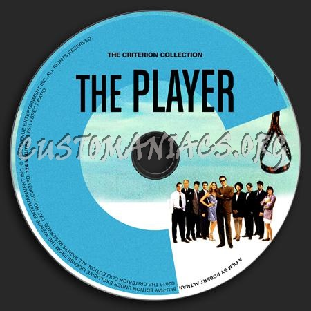 812 - The Player dvd label