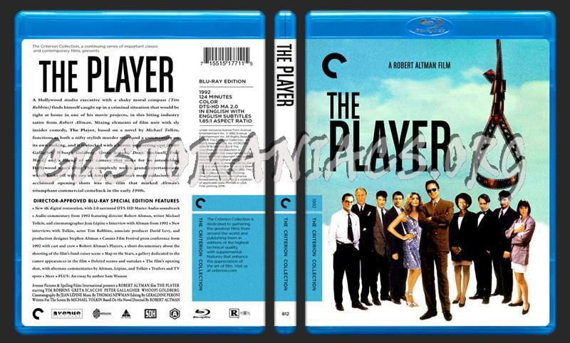 812 - The Player blu-ray cover