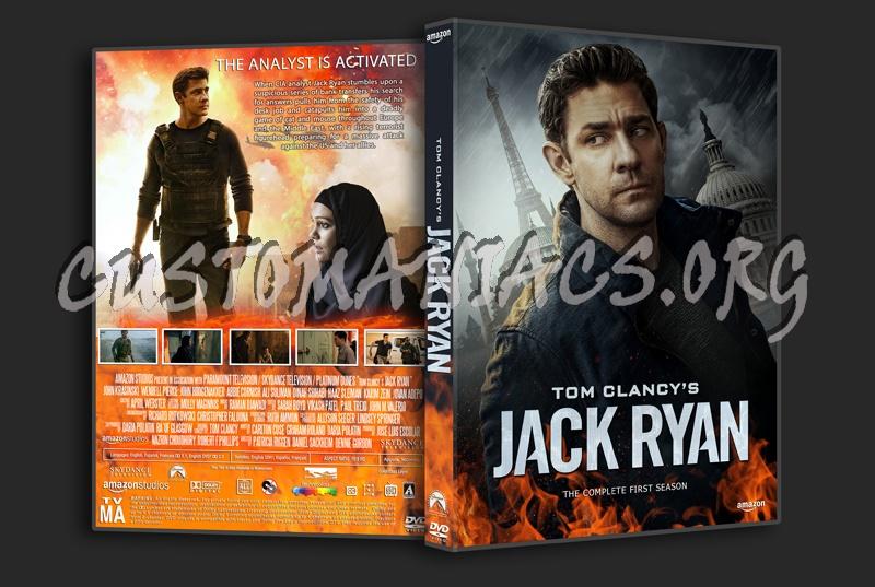 Jack Ryan Season 1 dvd cover
