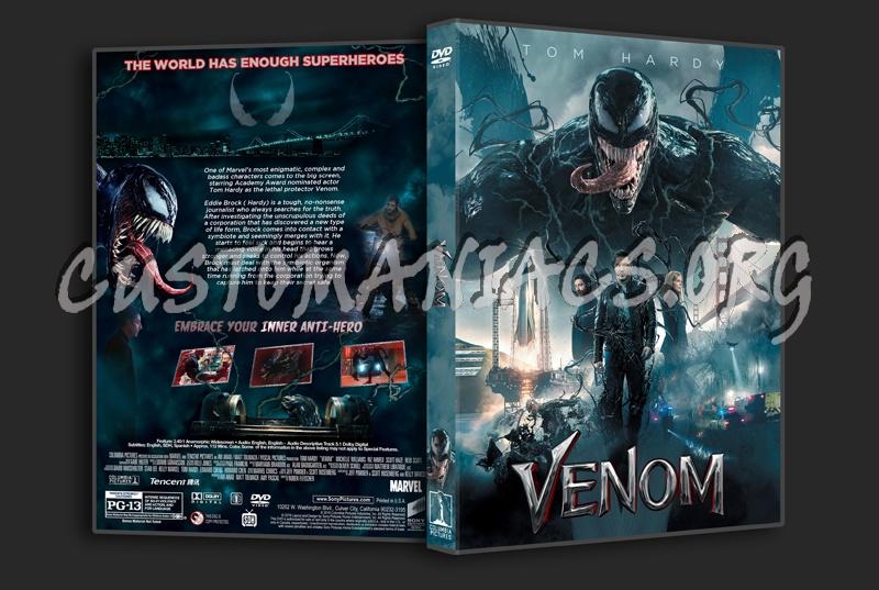Venom (2018) dvd cover