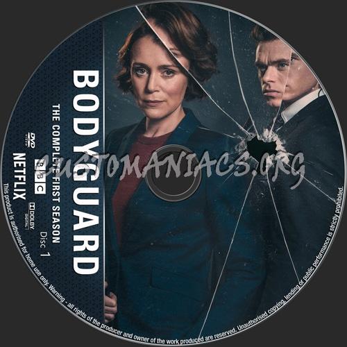 Bodyguard Season 1 dvd label