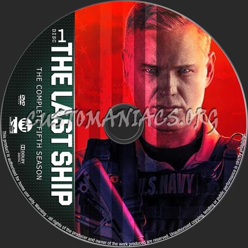 The Last Ship Season 5 dvd label