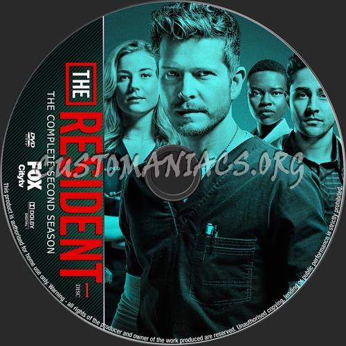The Resident Season 2 dvd label