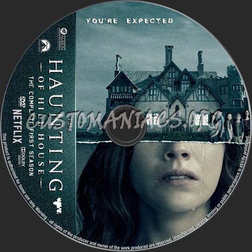 The Haunting Of Hill House Season 1 dvd label