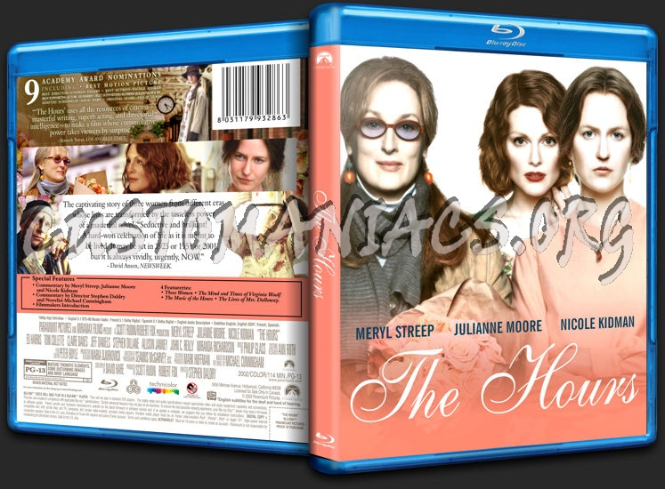 The Hours blu-ray cover
