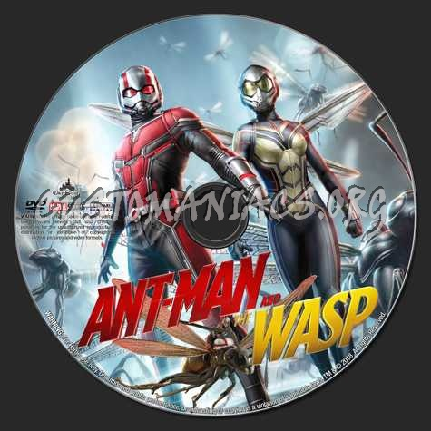 Ant-Man And The Wasp (2018) dvd label