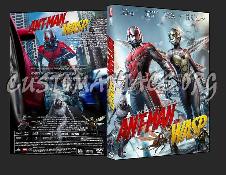 Ant-Man And The Wasp (2018) dvd cover