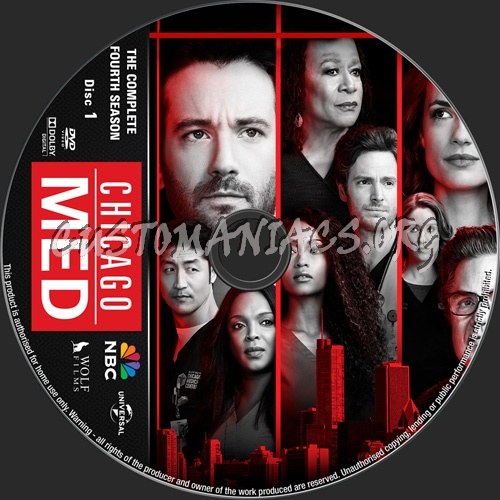 Chicago Med Season 4 dvd label