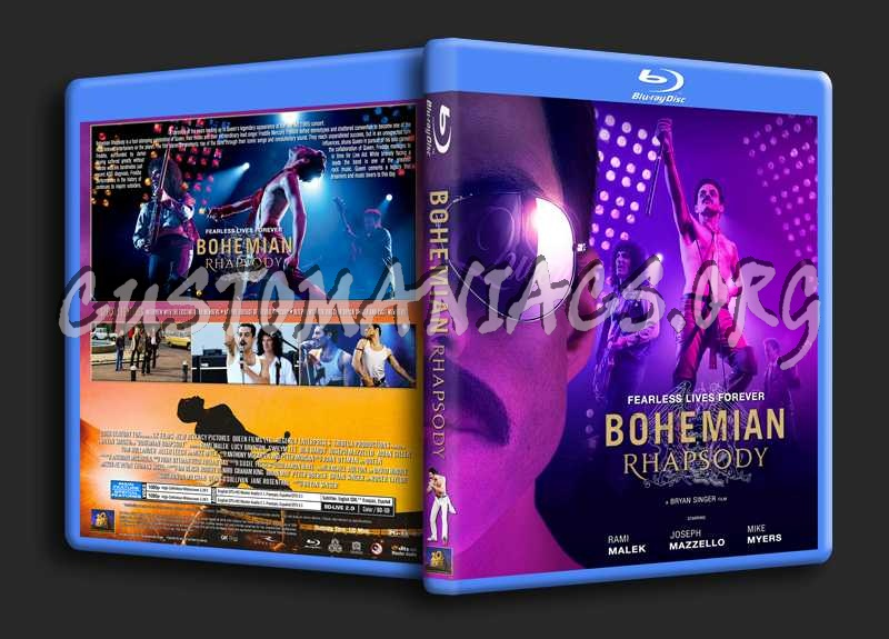 Bohemian Rhapsody 2018 Blu Ray Cover Dvd Covers Labels By