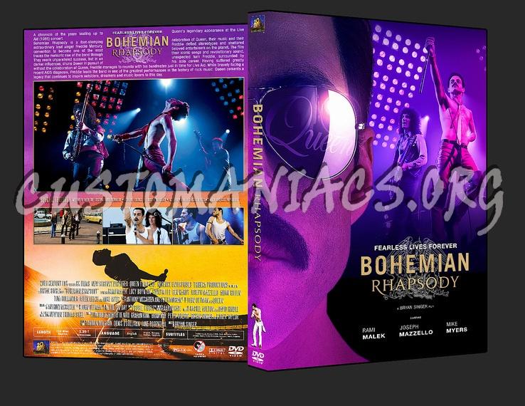 Bohemian Rhapsody (2018) dvd cover