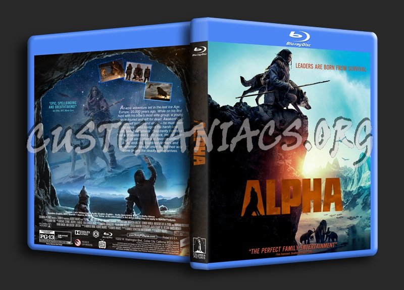 Alpha (2018) blu-ray cover