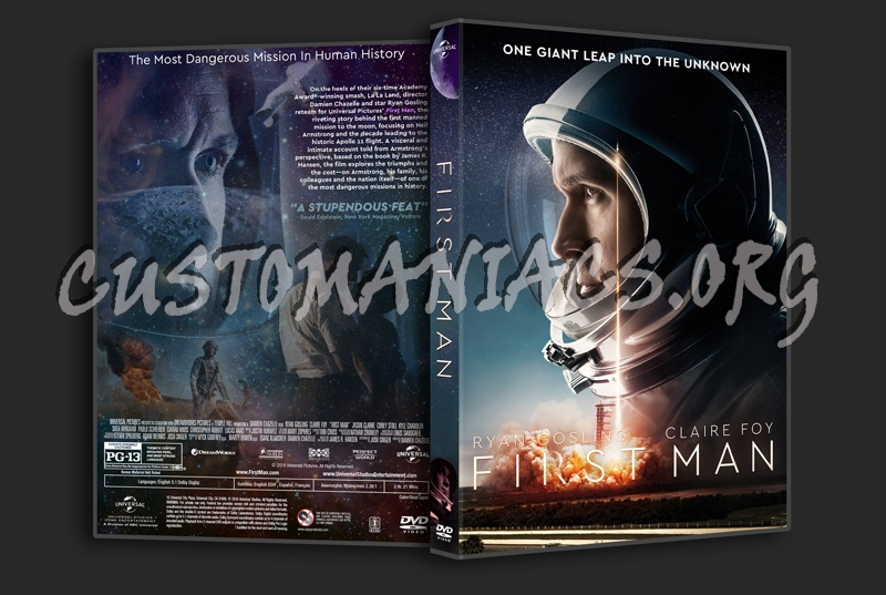 First Man dvd cover