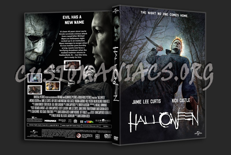 Halloween 2018 dvd cover