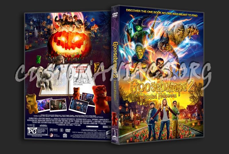 Goosebumps 2: Haunted Halloween dvd cover