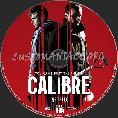 Calibre dvd label