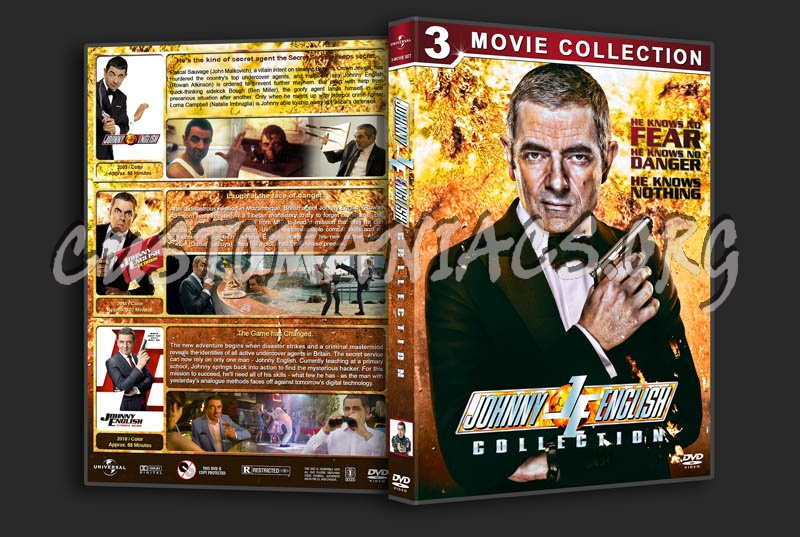 Johnny English Collection dvd cover