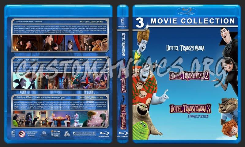 Hotel Transylvania Triple Feature blu-ray cover